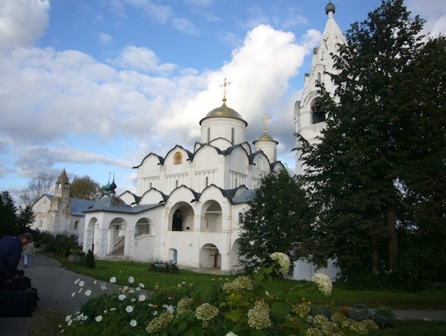 Mead in Medieval Suzdal, Moscow, Russia