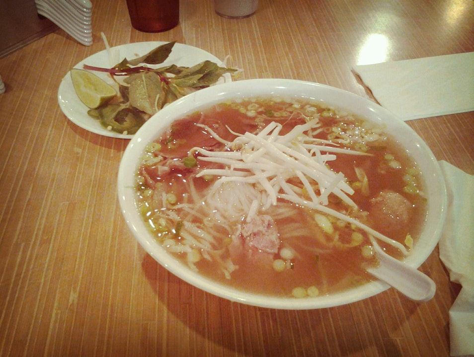 Flavorful Pho at Quang's Vietnamese Restaurant Minneapolis Minnesota United States