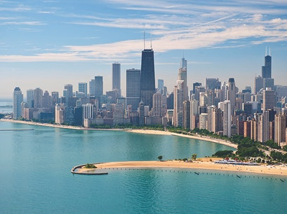 North Avenue Beach Chicago Illinois United States