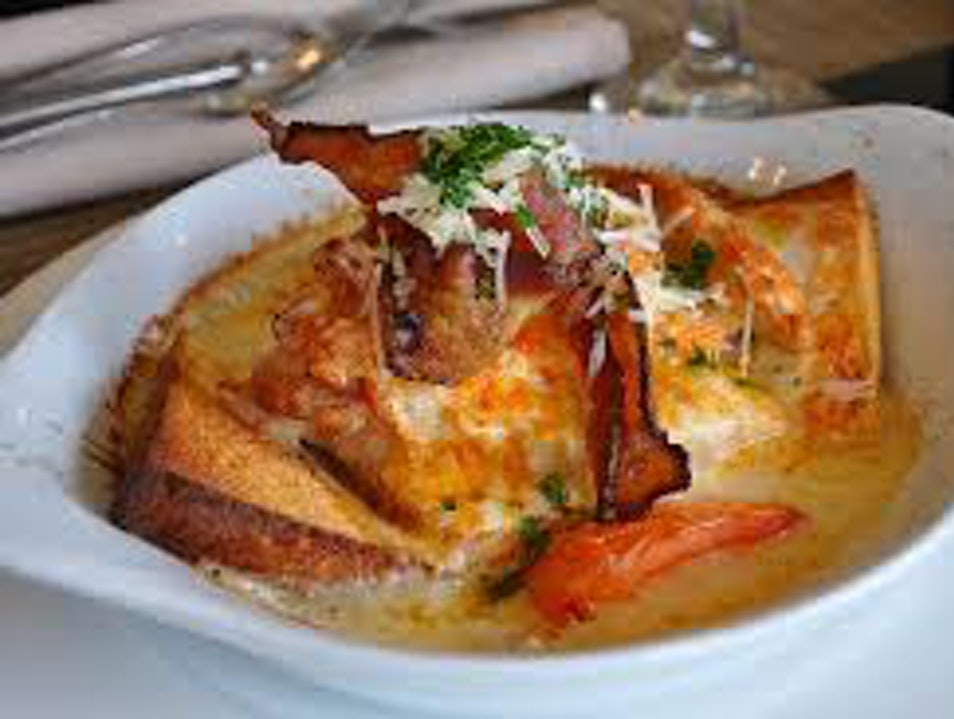 Hot Brown at The Brown  Louisville Kentucky United States