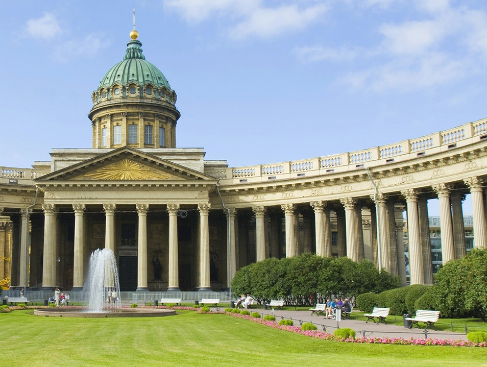 Kazan Cathedral St. Petersburg  Russia
