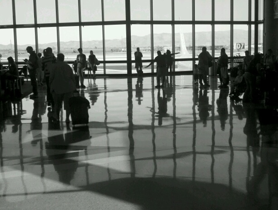 One of my favorite airport views.