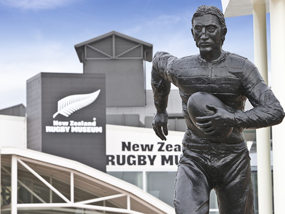 New Zealand Rugby Museum Palmerston North  New Zealand