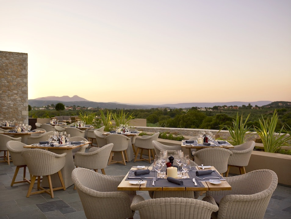 Delicious Steak with a View at Flame Restaurant Costa Navarino  Greece