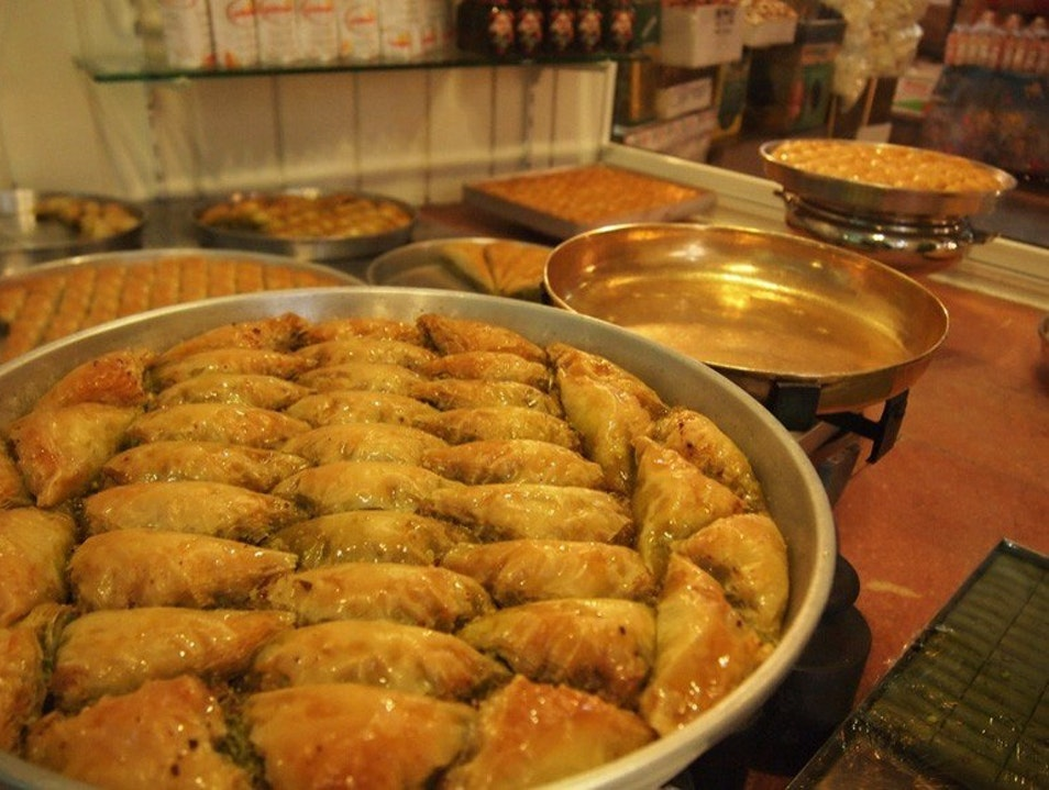 Turkey's most famous baklava Gaziantep  Turkey