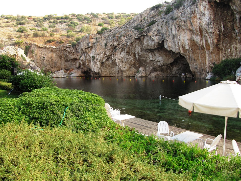 Rejuvenating Bath Vouliagmeni  Greece