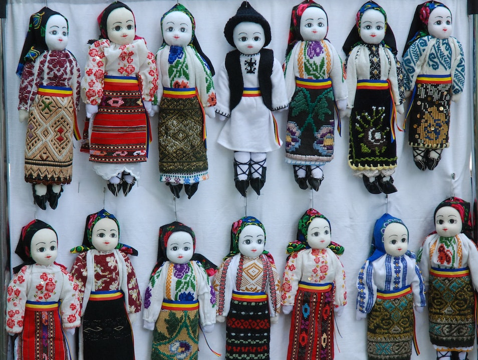 Traditional Romanian Dolls Bucharest  Romania