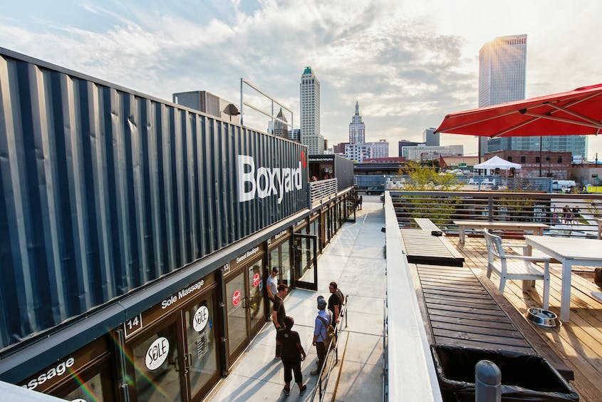 The Boxyard was inspired by a similar London-based project.