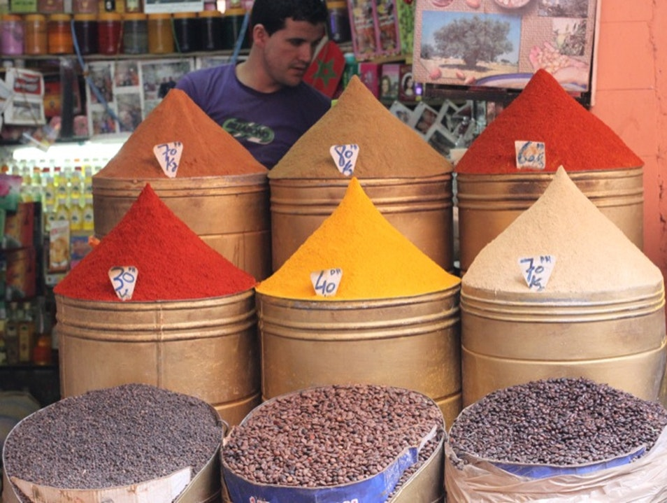 Add some authentic Moroccan flavor to your trip Marrakech  Morocco