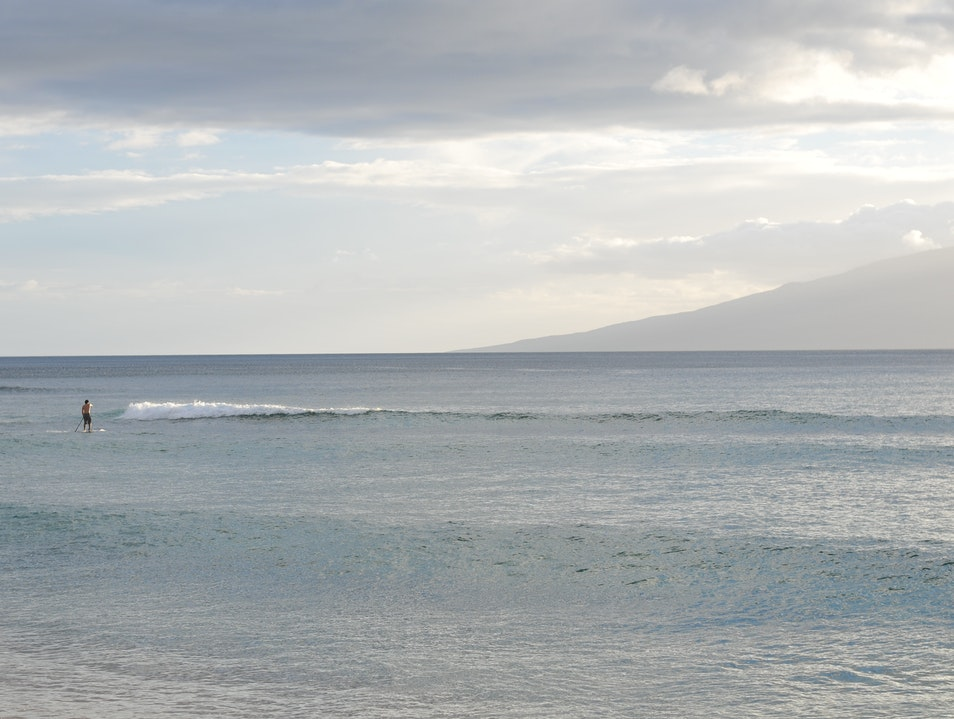 Walk on Water While Stand-Up Paddling Lahaina Hawaii United States