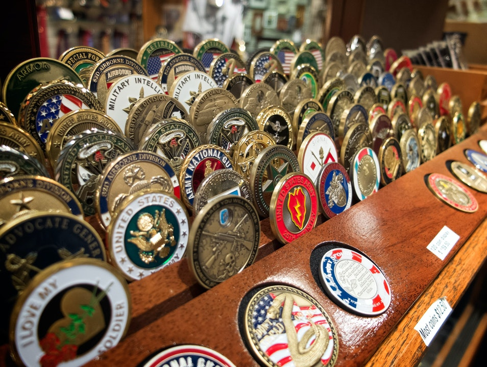 Military Memorabilia at Ship's Hatch Arlington Virginia United States