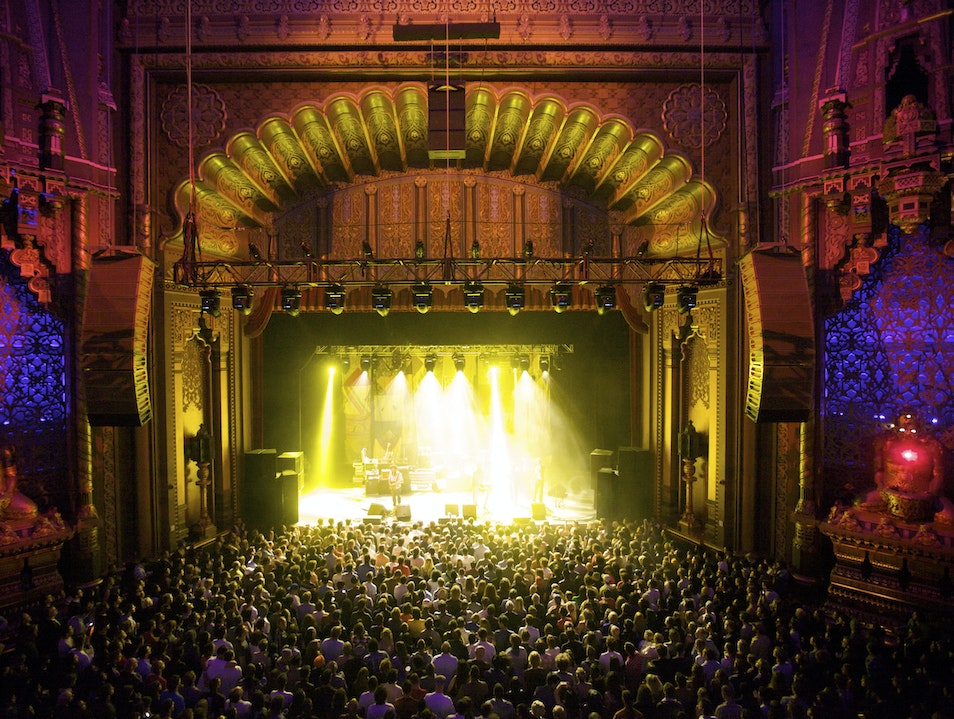 An Immersive Experience at the Fox Theater  Oakland California United States