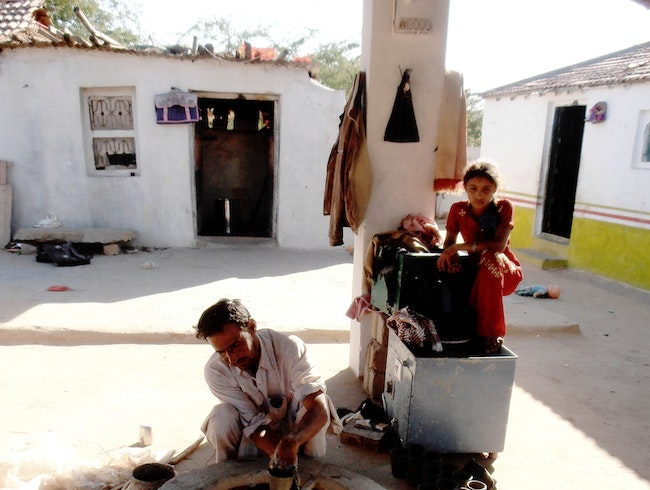 A soulful encounter with Khavda's only potter