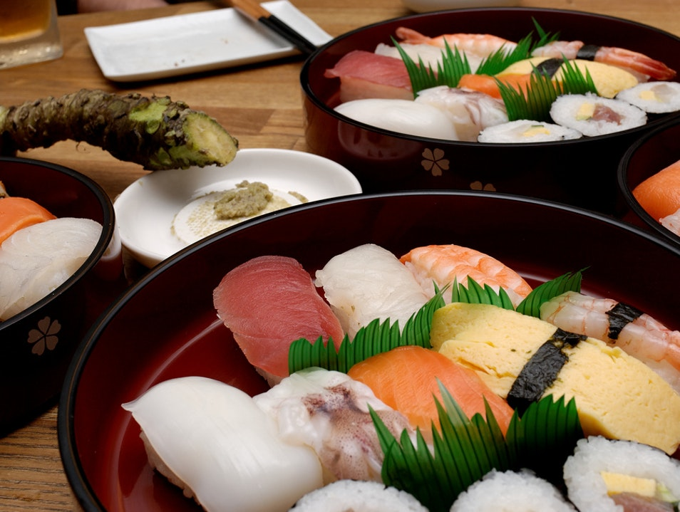 Become a Sushi Master in Tokyo Tokyo  Japan