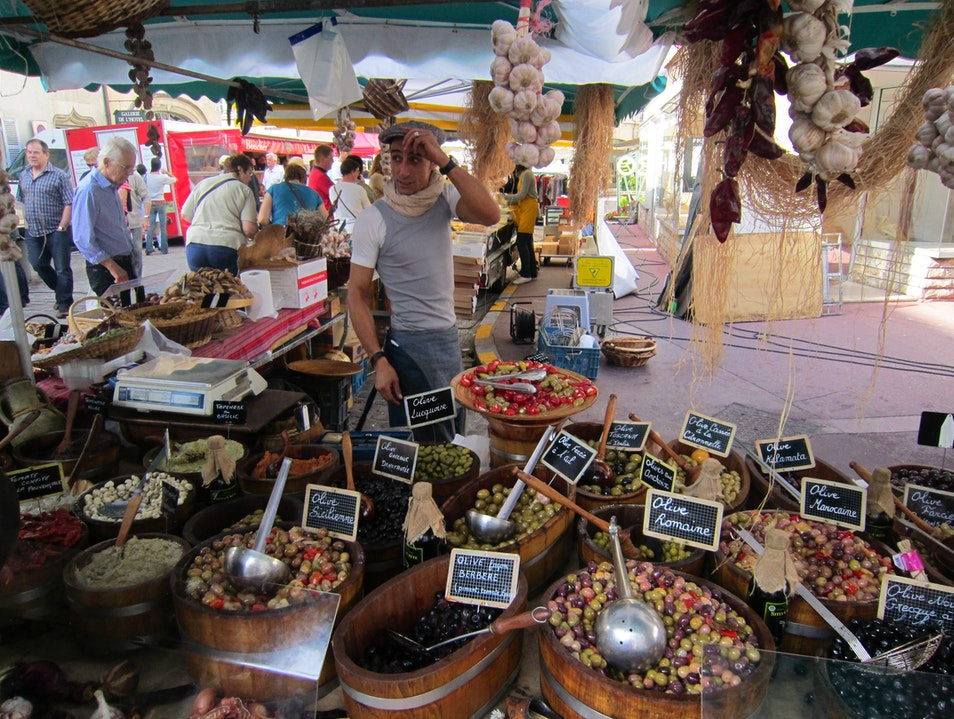 Saturday Market in Beaune Beaune  France