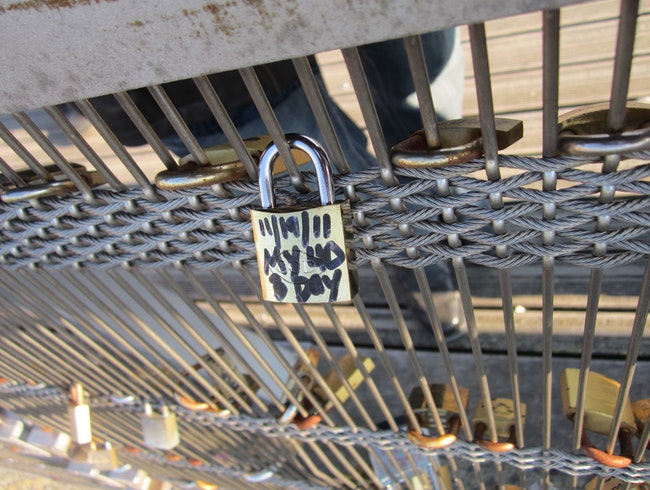 Love, Lock and throw the key