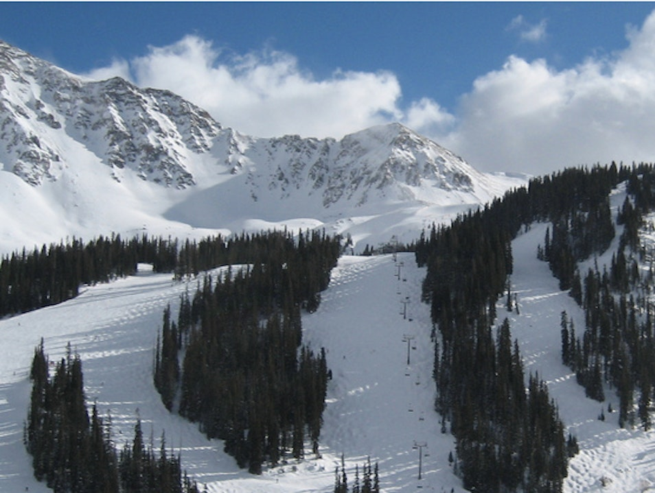 Skiing Arapahoe Basin Keystone Colorado United States