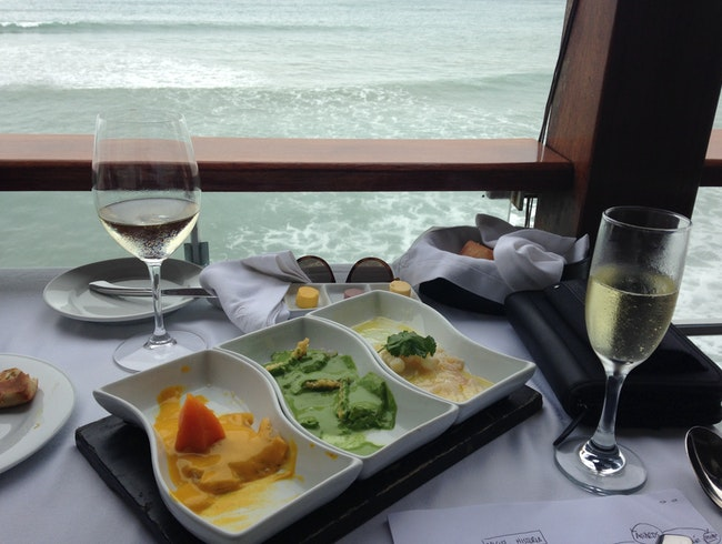 Pacific Terrace with Peruvian Food