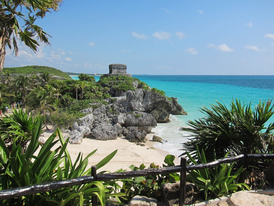 Ruin with a View Tulum  Mexico