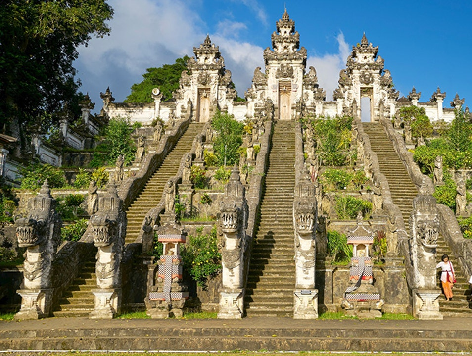 Lempuyang Luhur Temple, the Temple of a Thousand Steps Abang  Indonesia