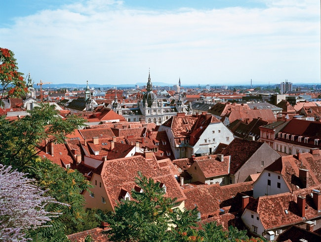 Old town of Graz