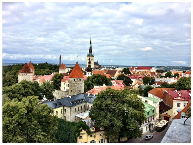 Time Travel through Tallinn, Estonia!