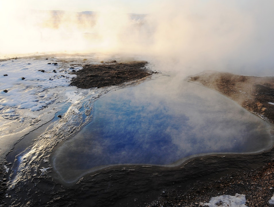 Otherworldly Hot Spring South  Iceland