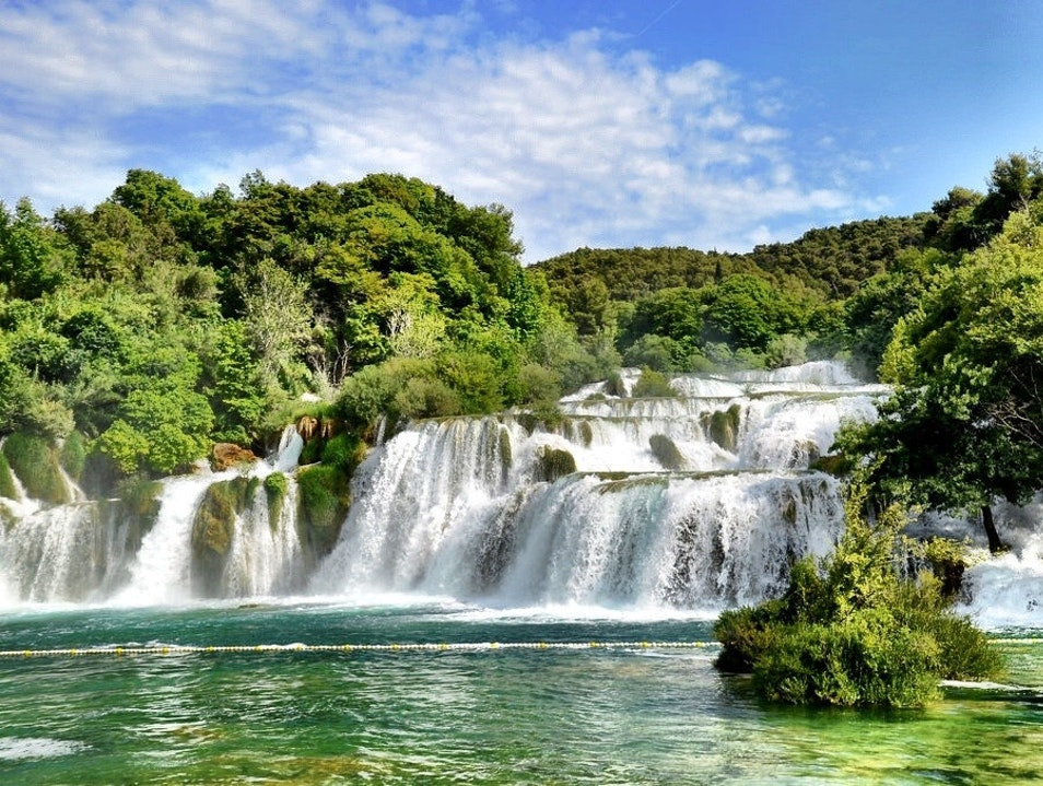 Chasing Waterfalls in Croatia Brištane  Croatia