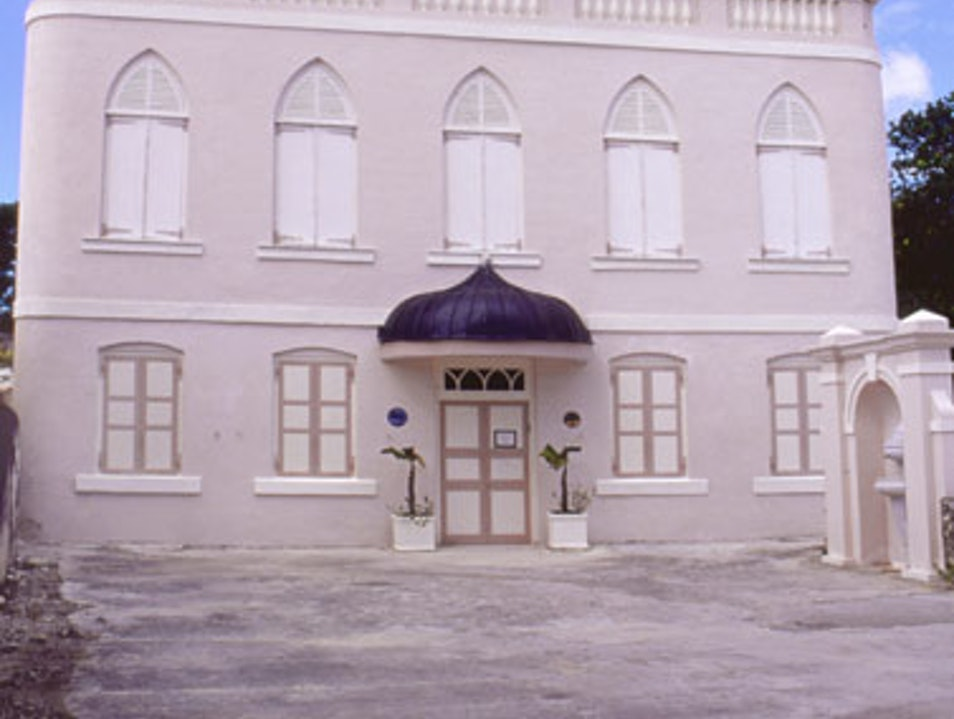 Mikvah and Jewish synagogue  Bridgetown  Barbados