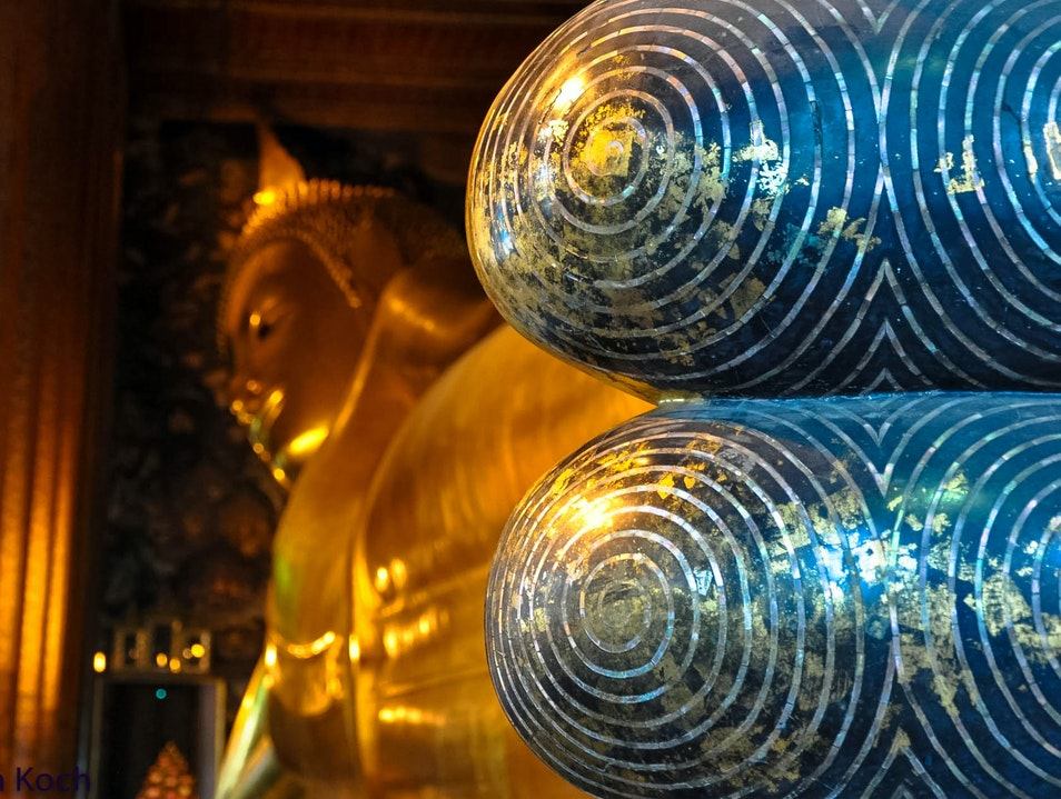 Wat Pho (Temple of the Reclining Buddha) Bangkok  Thailand