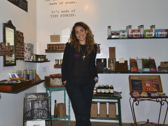 Shop for Artisanal Goods at Olives & Grace