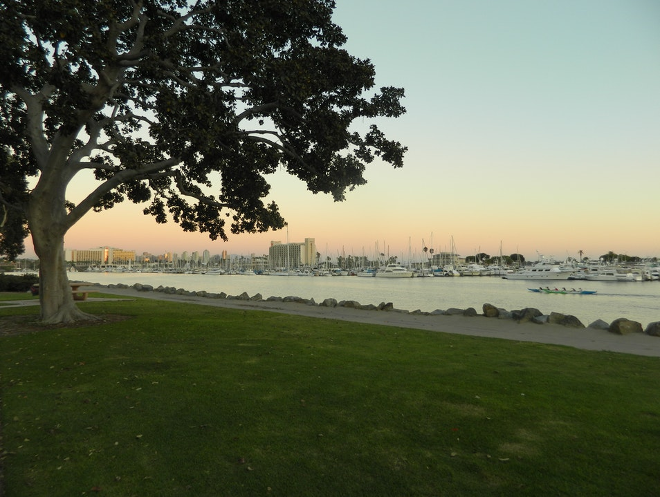Beautiful park for a run or picnic San Diego California United States