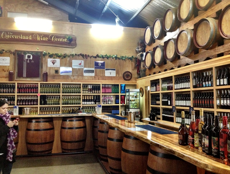 Queensland Wine Centre at Cedar Creek Estate Gold Coast  Australia