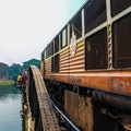 Bridge on the River Kwai Sai Yok  Thailand