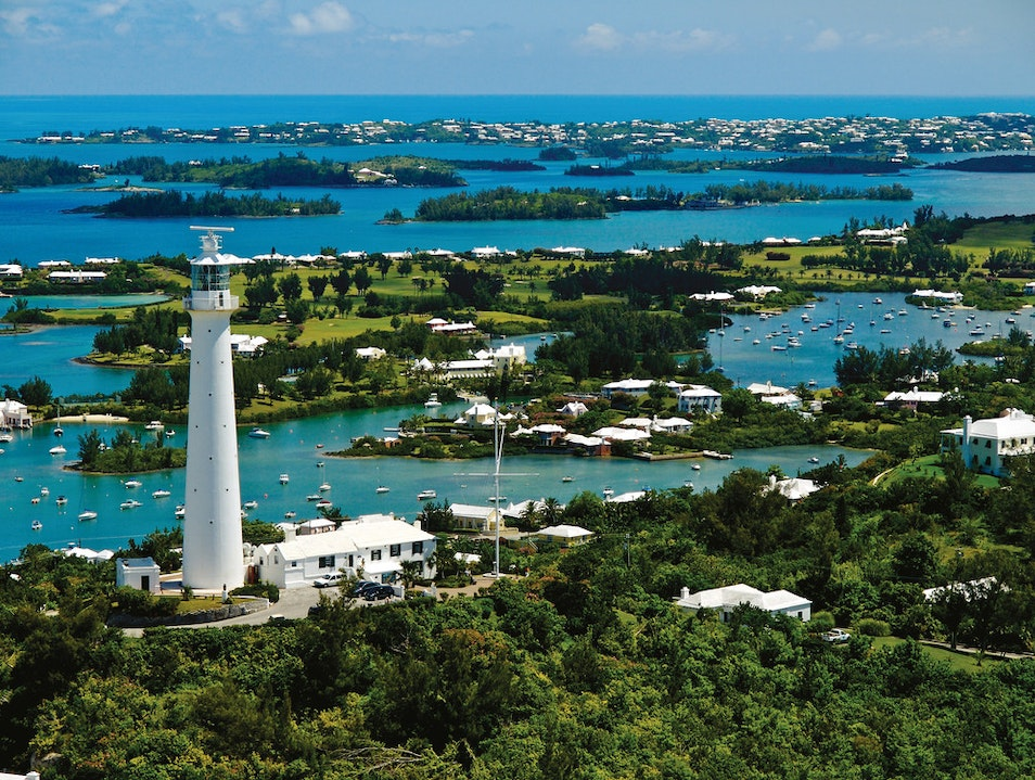 Catch the View from Gibbs Hill Lighthouse  Cross Bay  Bermuda