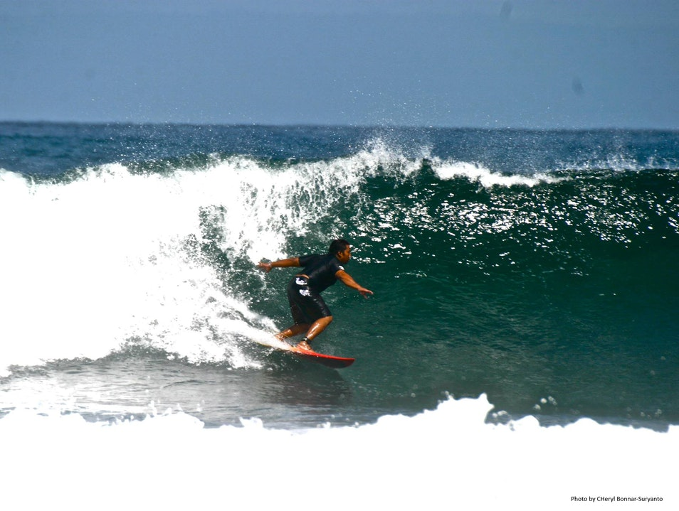 Surfing Hot Spots Pekutatan  Indonesia