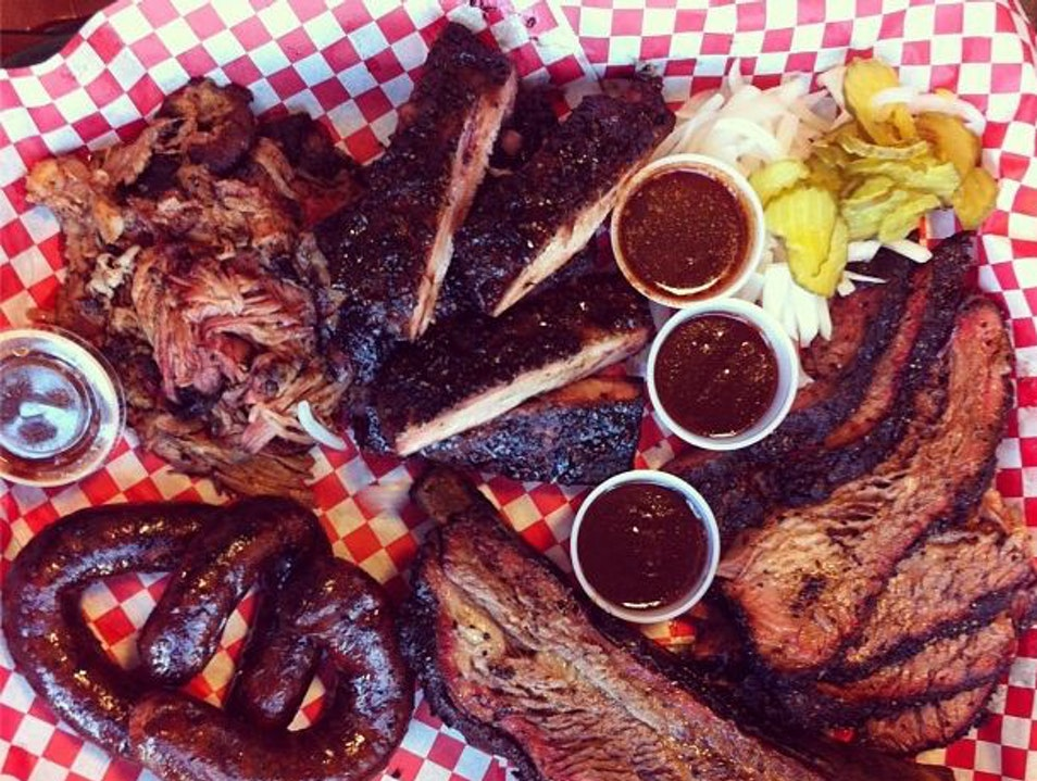 BBQ Worth the Wait at Pecan Lodge Dallas Texas United States
