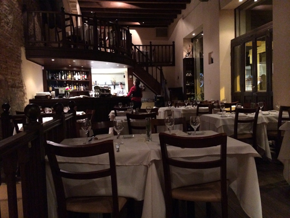 Cozy Place To Dine In Old Montevideo