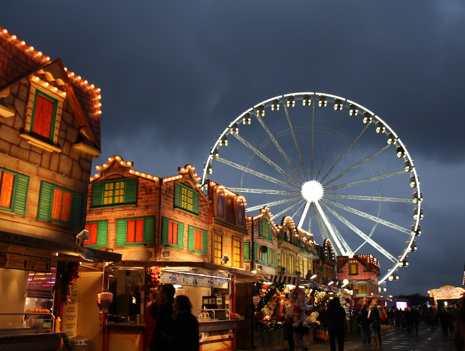 Winter Wonderland London  United Kingdom