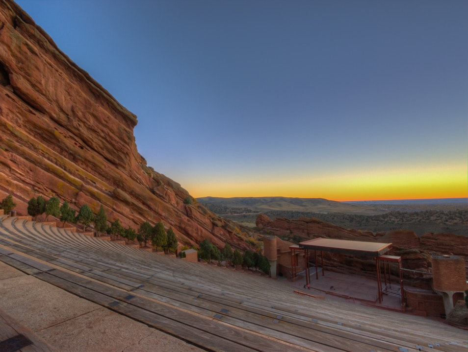 Natural Acoustics at Red Rocks Golden Colorado United States