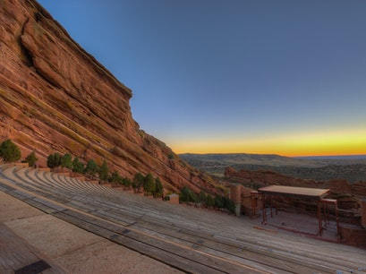 Red Rocks Amphitheatre Morrison Colorado United States