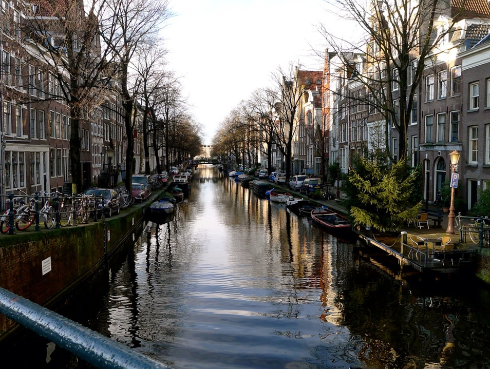 Get lost at the canals Amsterdam  The Netherlands
