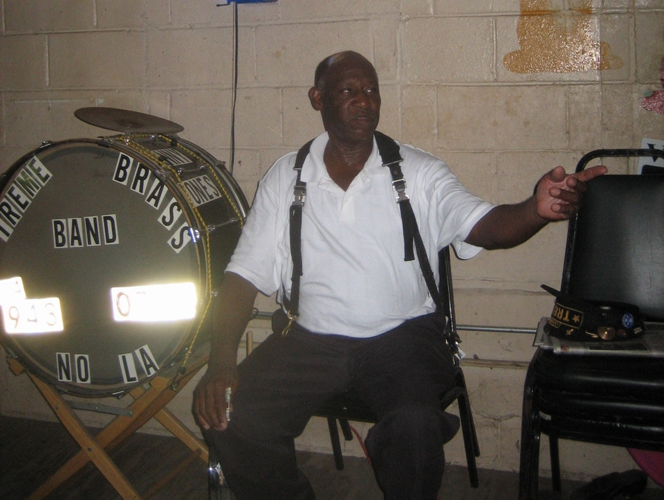 Brass Band Shows at the Candlelight Lounge New Orleans Louisiana United States
