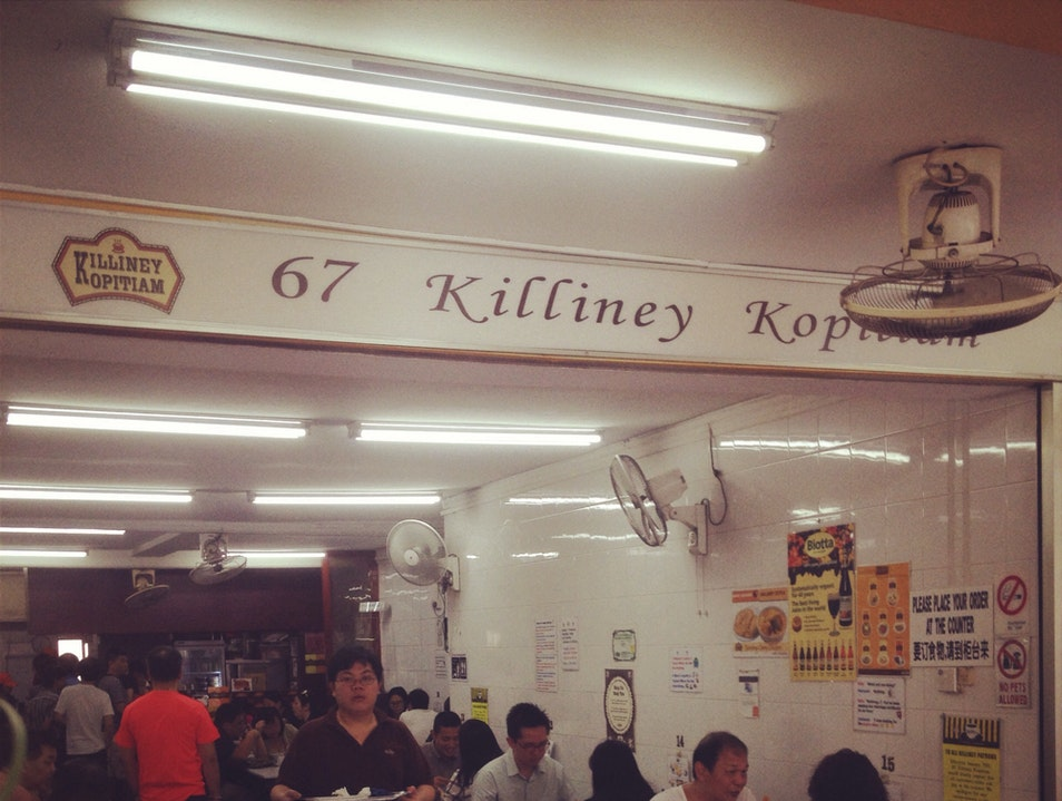 Great Breakfast at 67 Killiney Singapore  Singapore