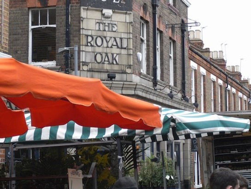 Royal Oak Pub, East London London  United Kingdom