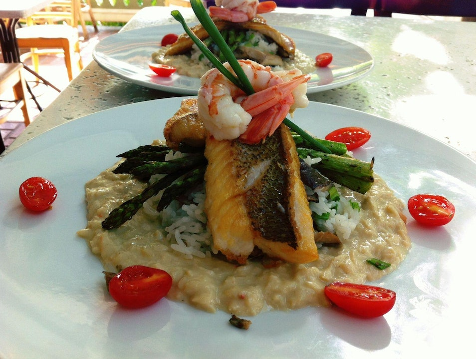 Upscale Dining at Bagatelle Key West Florida United States