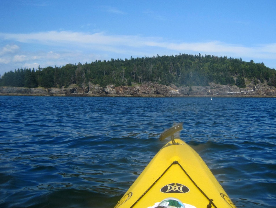 Kayaking the Porcupine Islands Sullivan Maine United States