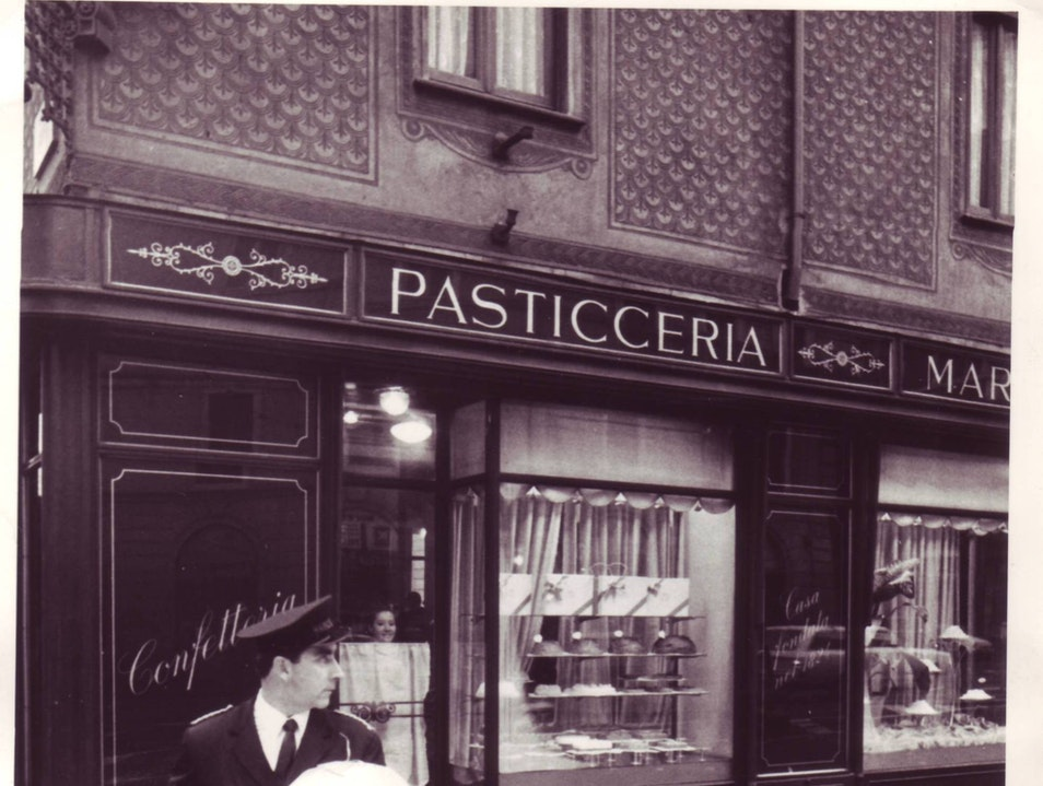 An old bakery in Milan