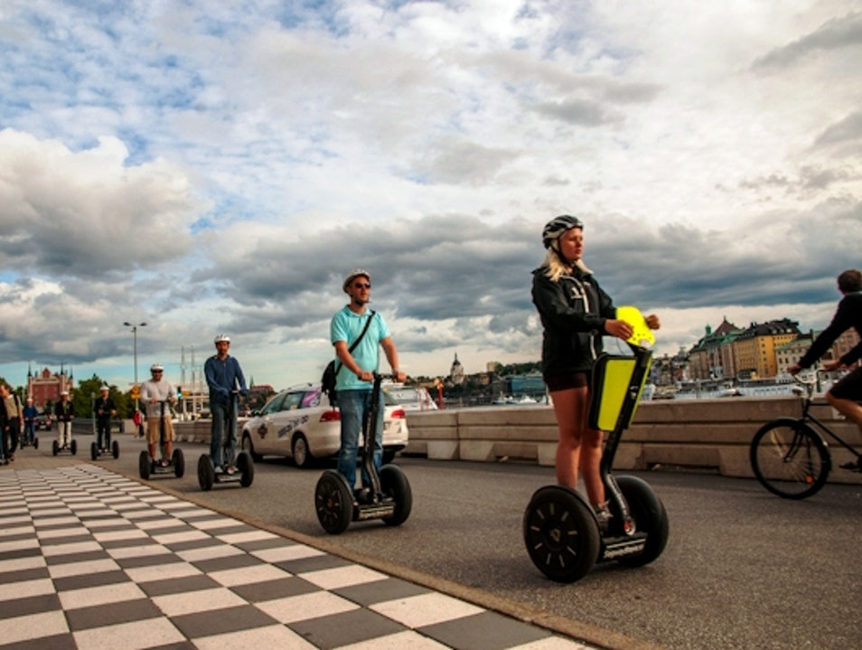 Riding Segways Through Stockholm Stockholm  Sweden