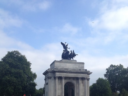 Wellington Arch London  United Kingdom
